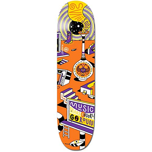 Element Skateboard Deck Elna Music Evan 8.1