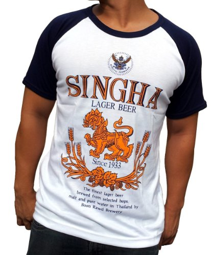 singha-beer-shirt-t-shirt-grosse-xl