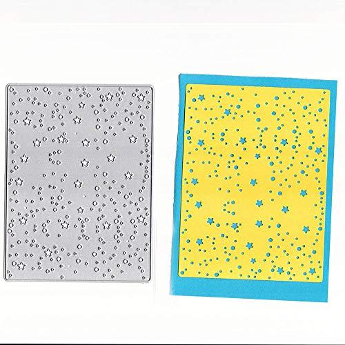 FNKDOR Scrapbooking Stanzschablone Embossing Machine Stanzformen Prägeschablonen Schablonen, Zubehör für Sizzix Big Shot und andere Stanzmaschine (C)