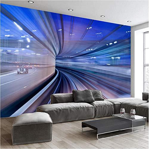 Mddjj 3D Wandbild Tapete Benutzerdefinierte Fototapeten 3D Stereoscopic Space Extension Schlafzimmer Wohnzimmer Sofa Wandbilder Tapete-400X532Cm