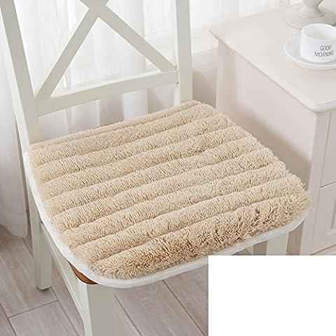 Invernale imbottita pad sedia peluche/ ufficio cuscino in tessuto-A