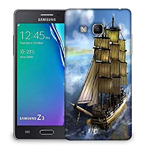 Snoogg Sailor'S Delight Designer Protective Back Case Cover For Samsung Galaxy Tizen T3