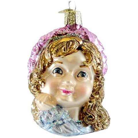 Old World Christmas ANGEL GIRL FACE 10138 Ornament Heavenly Religious New by OLD WORLD CHRISTMAS
