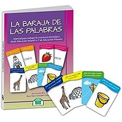 La Baraja de las Palabras. Material para trabajar la Conciencia Fonológica (Lenguaje, Comunicación y Logopedia)