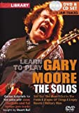 Learn to play Gary Moore - The Solos  (+ CD)