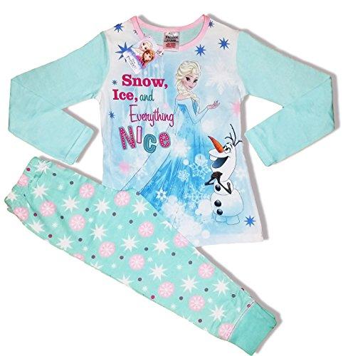 Pigiama da Bambini/ragazzi, a maniche lunghe, età 1–10anni, tema: Up Frozen Snow and Ice 4 anni