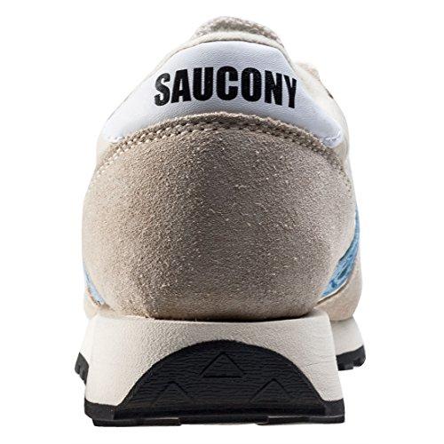 Saucony Beige/Sky Bleu Jazz Original Vintage Basket Beige