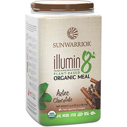 Sunwarrior Illumin8 Organic Plant Meal 1kg (Aztec Chocolate)