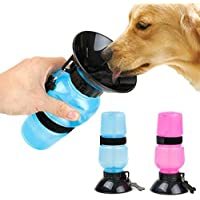DDBOXEN Dog Water Bowl Bottle Sipper Portable Aqua Dog Travel Water Bottle