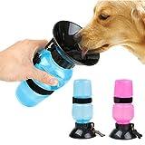 #10: SRI Travel Pet Dog Water Bottle Mug Cat Puppy Hydrated On The Go (Blue)