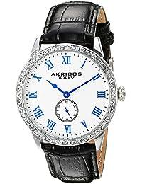 Akribos XXIV AK867SS - Reloj de cuarzo hombres, color negro