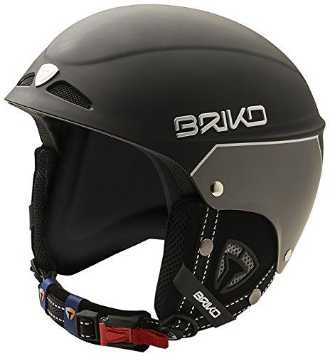 Briko Snowy Casque de ski unisexe Noir 57-58