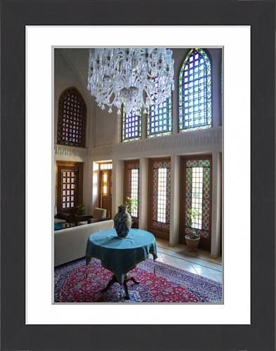 framed-print-of-interior-of-late-18th-century-qajar-mansion-now-serai-ameriha-hotel-kashan