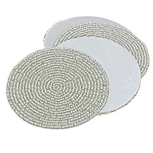 artesania-india-prisha-r-set-de-4-posavasos-artesanales-abalorios-plata-te-4-pulgadas-para-tapetes-t