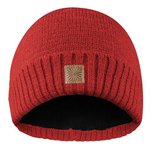 Flash Beanie Mütze aus reflektierender Wolle mit innenfleece