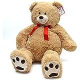 Riesen Kuschel-Tiere, riesen Hunde und Teddy-Bären, bis 100cm XXL Plüsch-Bär, Stoff-Hund, Stofftiere zum Liebhaben von Pink Papaya Toys