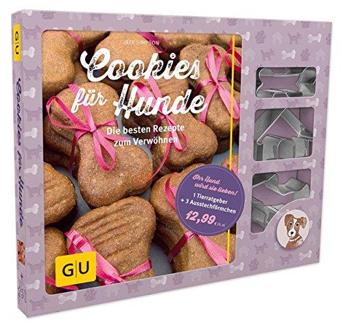 Artikelbild: Cookies für Hunde: Die besten Rezepte zum Verwöhnen (GU Tier Spezial)