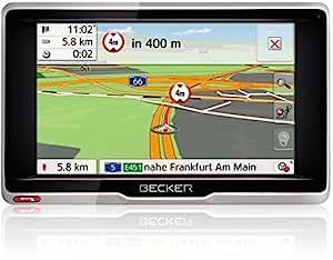 Becker transit.5 LMU Truck und Camper Navigationsgerät (12,7 cm (5 Zoll) Display, 47 Länder Europas vorinstalliert, lebenslange Kartenupdates)