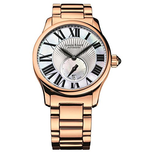LOUIS ERARD WOMEN'S EMOTION 36MM AUTOMATIC MOP DIAL WATCH 92602PR01.BMA46