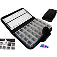 7 Day Pill Wallet Box Medicine Tablet Holder Organiser Storage Travel