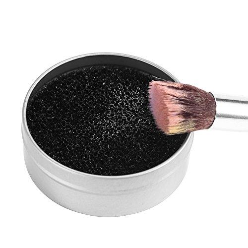 Make-up Pinsel Reinigungswerkzeug, Kosmetik Lidschattenpuder Farbentferner Schwammreiniger Reinigen Box, Quick Daily Cleaner Trockenschwamm