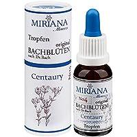 MirianaFlowers Centaury 20ml Bachblüten Stockbottle preisvergleich bei billige-tabletten.eu