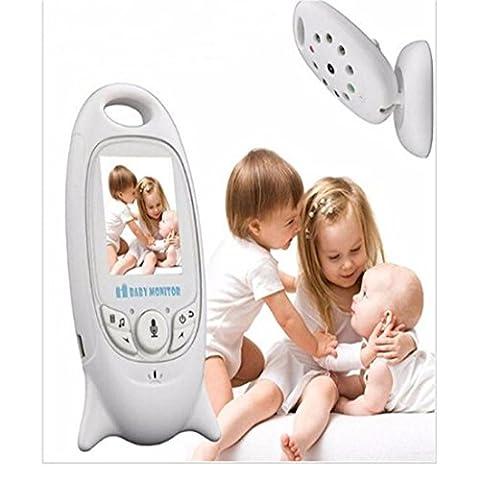 Joyeer Video Baby Monitor mit Pairing Kamera Musik Player Talkback System IR Nachtansicht Anti-Flicker Temperatursensor