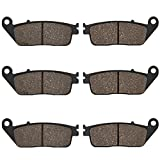 Cyleto Front and Rear Brake Pads for Honda ST1100 ST 1100 ST1100A Pan European 1100 1990 1991 1992 1993 1994 1995 1996-2002