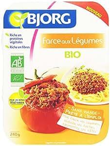 Bjorg Farce végétarienne aux Légumes Bio 240 g