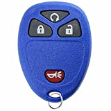KeylessOption Keyless Entry Remote Control Car Key Fob for 15913421 -Blue