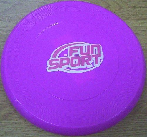 Purpurner Frisbee - 25.5cm Durchmesser Ungefähr