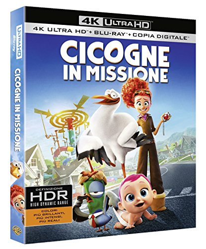 Cicogne In Missione (Blu-Ray 4K Ultra HD+Blu-Ray) [Italia] [Blu-ray]
