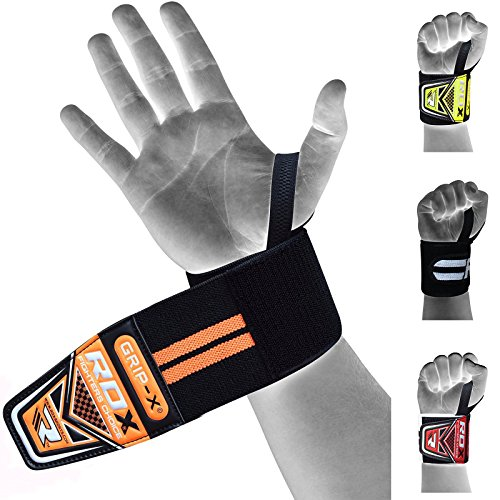 RDX-Weight-Lifting-Wrist-Wraps-Gym-Straps-Crossfit-Bodybuilding-Power-Training-Workout-Exercise