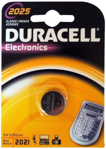 Duracell CR2025 Lithium Knopfzelle (3 Volt)
