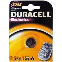 Duracell DUCR2025 - Batería de botón de litio (3 voltios)