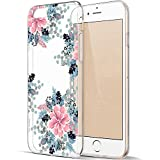 iPhone 6S Hülle, iPhone 6 Hülle, EGGPRO Klar Transparent Flexibel Weich Antikollisiont TPU Silikon Handyhülle, Niedliches Elegantes Blumenmuster Schutzhülle Case für Apple iPhone 6 / 6S (Blumen - 04)