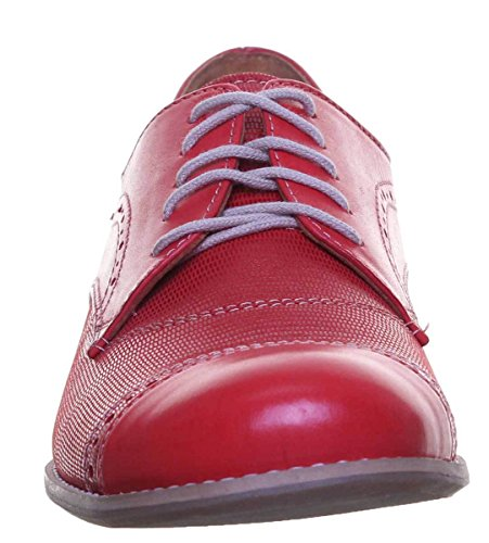 Pour Rouges Justin À Chaussures Reece Agatha Femmes Lacets nwnZYvfzq