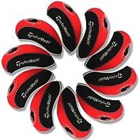 Taylormade funda de palo de golf hierro 10pcs/set MT/T06 negro/rojo