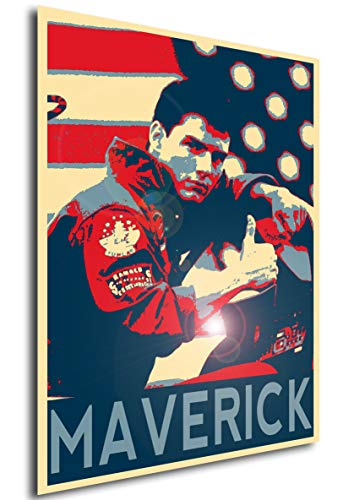 Instabuy Poster Propaganda Top Gun Maverick A3 42x30