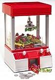 Geschenkbox Jahrmarktgreifer Candy Grabber Sußigkeiten Kran für Kinder mit Jetons/Chips