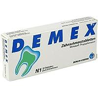 DEMEX Zahnschmerztabletten 10 stk preisvergleich bei billige-tabletten.eu
