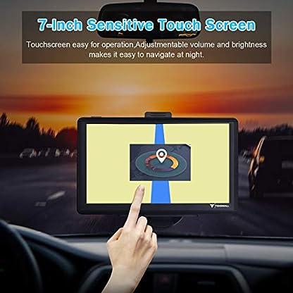 GPS-Navigationsgert-fr-Auto-Navigation-fr-LKW-PKW-KFZ-7-Zoll-8GB-256MB-Touchscreen-Navi-mit-POI-Blitzerwarnung-Sprachfhrung-Fahrspur-Lebenslang-Kostenloses-EU-58-Karten