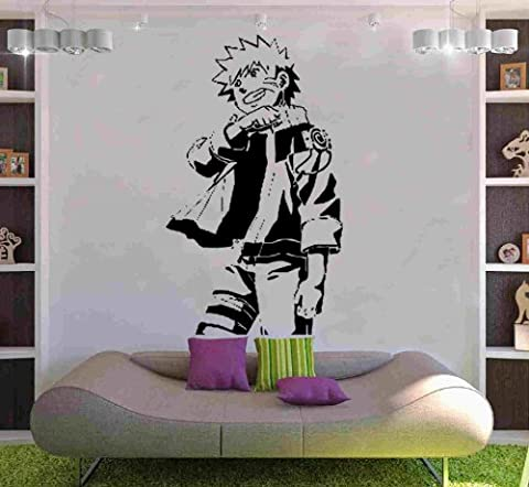 Naruto Decal Vinyl Wall Sticker Art Manga Hentai Oriental Japanese (MH3) 120cm x 204cm by Kult Kanvas