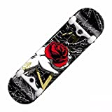 GAOY Skateboard Monopatín Monopatines Principiantes De Cubierta Especial Patada Doble Patín De Arce Crucero PU Ruedas Para Adultos Niños Principiantes Tablero Largo,A