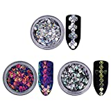 BONNIESTORE 6 Boîtes Nail Strass Holographique Chameleon Ongles - Best Reviews Guide