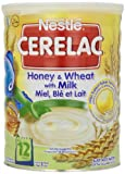 Nestle Cerelac, Honey and Wheat with Milk, 2.2-Pound