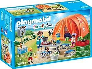 Playmobil radiotransmisión Family Fun Familias de Camping