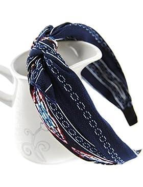 axy HR33 Haarreif SERIE 33 Hair band mit Schleife -Vintage-Wunderschön Stirnband