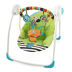Bright Starts Balancelle Zoo Tails Portable Swing
