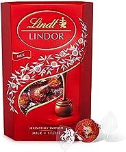 Lindt Milk Lindor Chocolate, 500 gm (Pack of 1)
